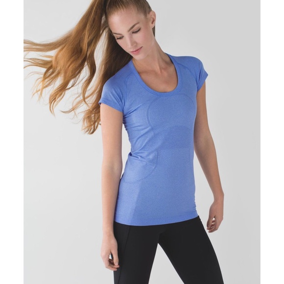 d6e517b6736d4 lululemon athletica Tops - Lululemon Swiftly Tech SS Size 2 in Lullaby